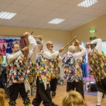 Morris dancers in the Community Centre