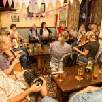 Folk session in the pub