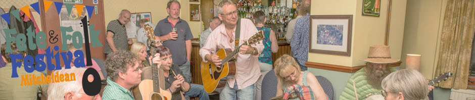 A folk session in the Whilte Horse