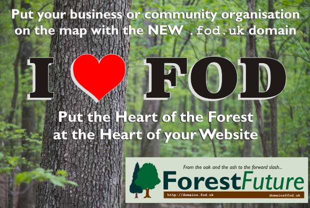 The new .fod.uk domain for the Forest of Dean